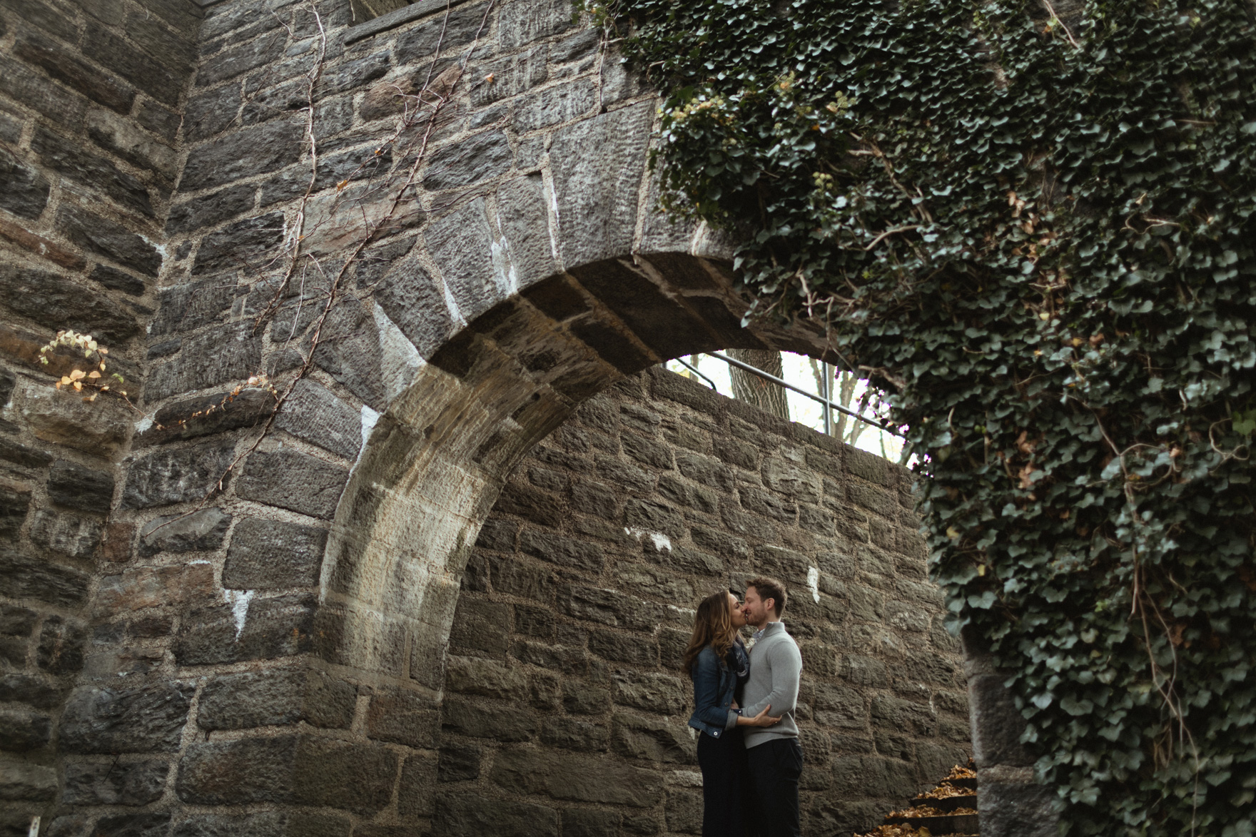 Fort Tyron Park Engagement
